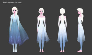 Frozen 2 - Elsa Concept Art
