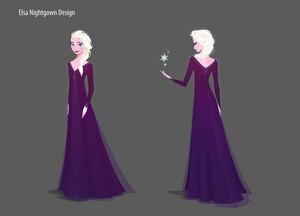 Nữ hoàng băng giá 2 - Elsa Concept Art
