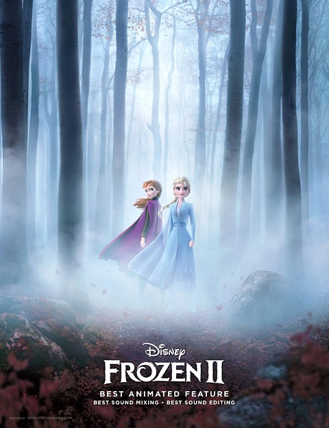 """Frozen 2 """"For Your Consideration"""" ad"""