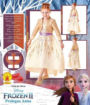 frozen 2 Prologue Anna Dress