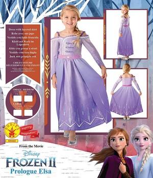 Nữ hoàng băng giá 2 Prologue Elsa Dress