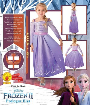 Frozen - Uma Aventura Congelante 2 Prologue Elsa Dress