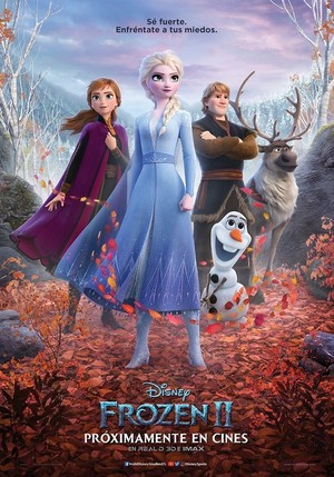 La Reine des Neiges 2 Spanish Poster