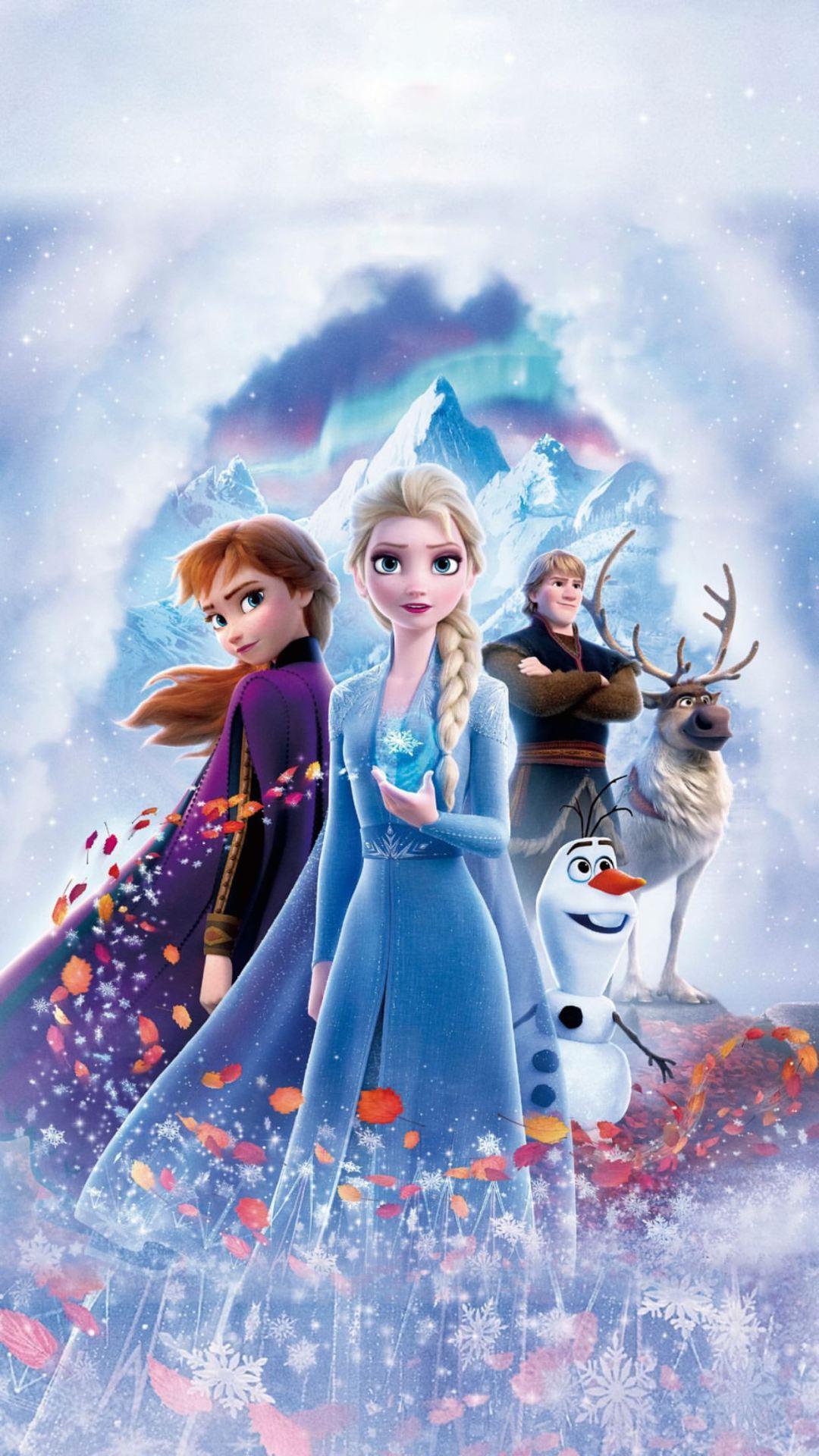 Frozen 2 Textless Poster