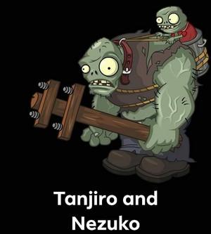 Funny Tanjirou and Nezuko parody