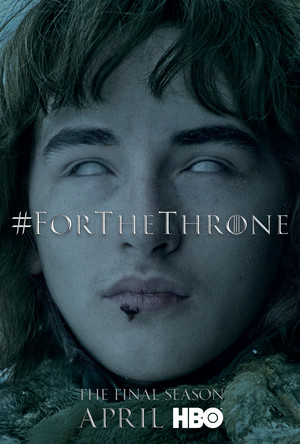 Game of Thrones - 'For the Throne' Poster - Bran Stark