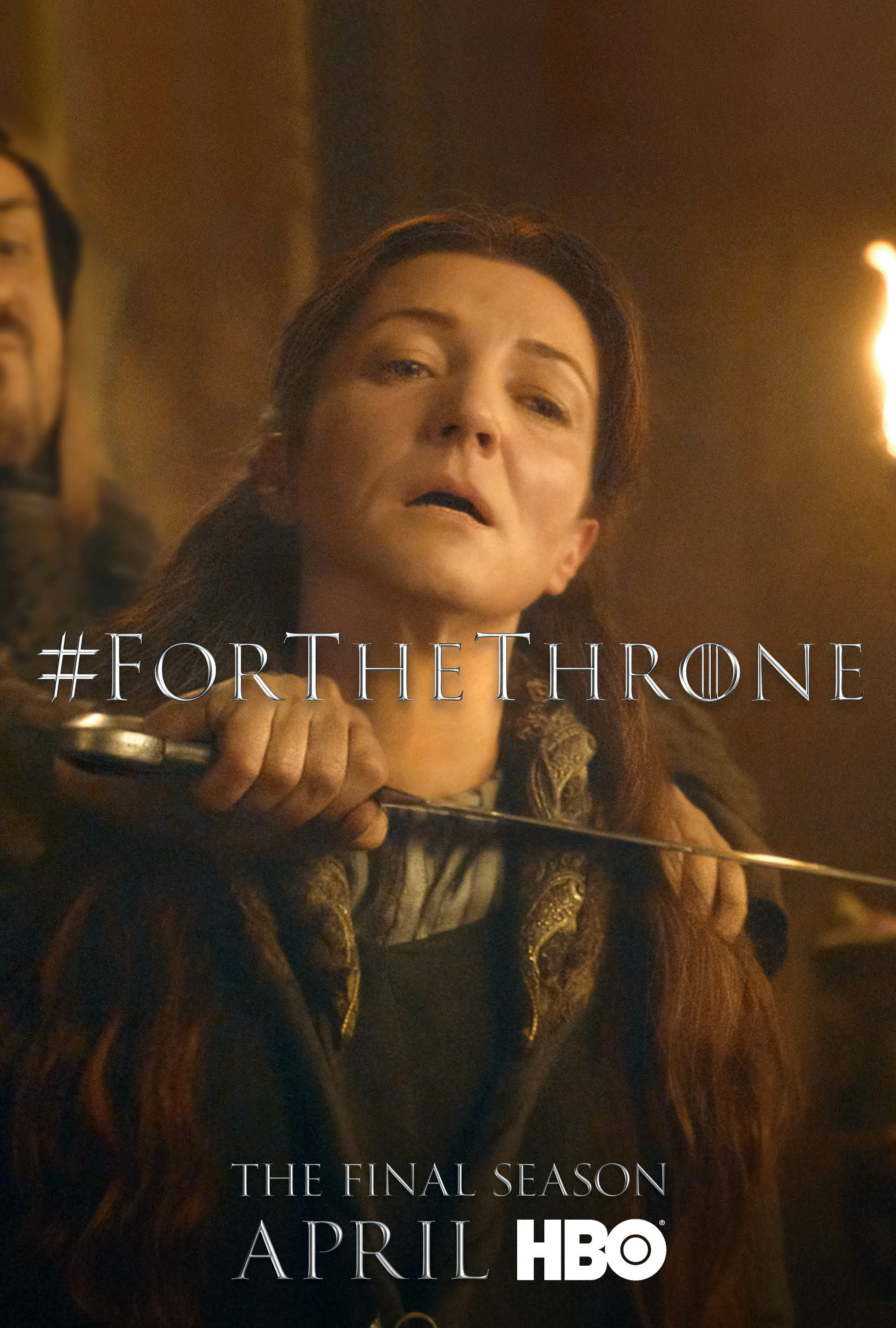 Game of Thrones - 'For the Throne' Poster - Catelyn Stark