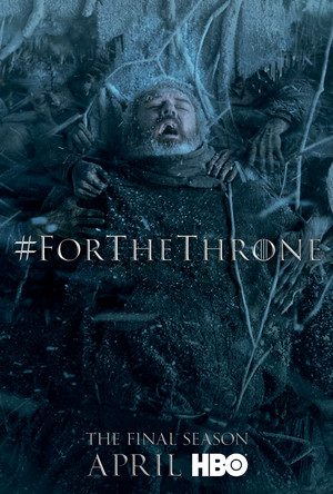 Game of Thrones - 'For the Throne' Poster - Hodor