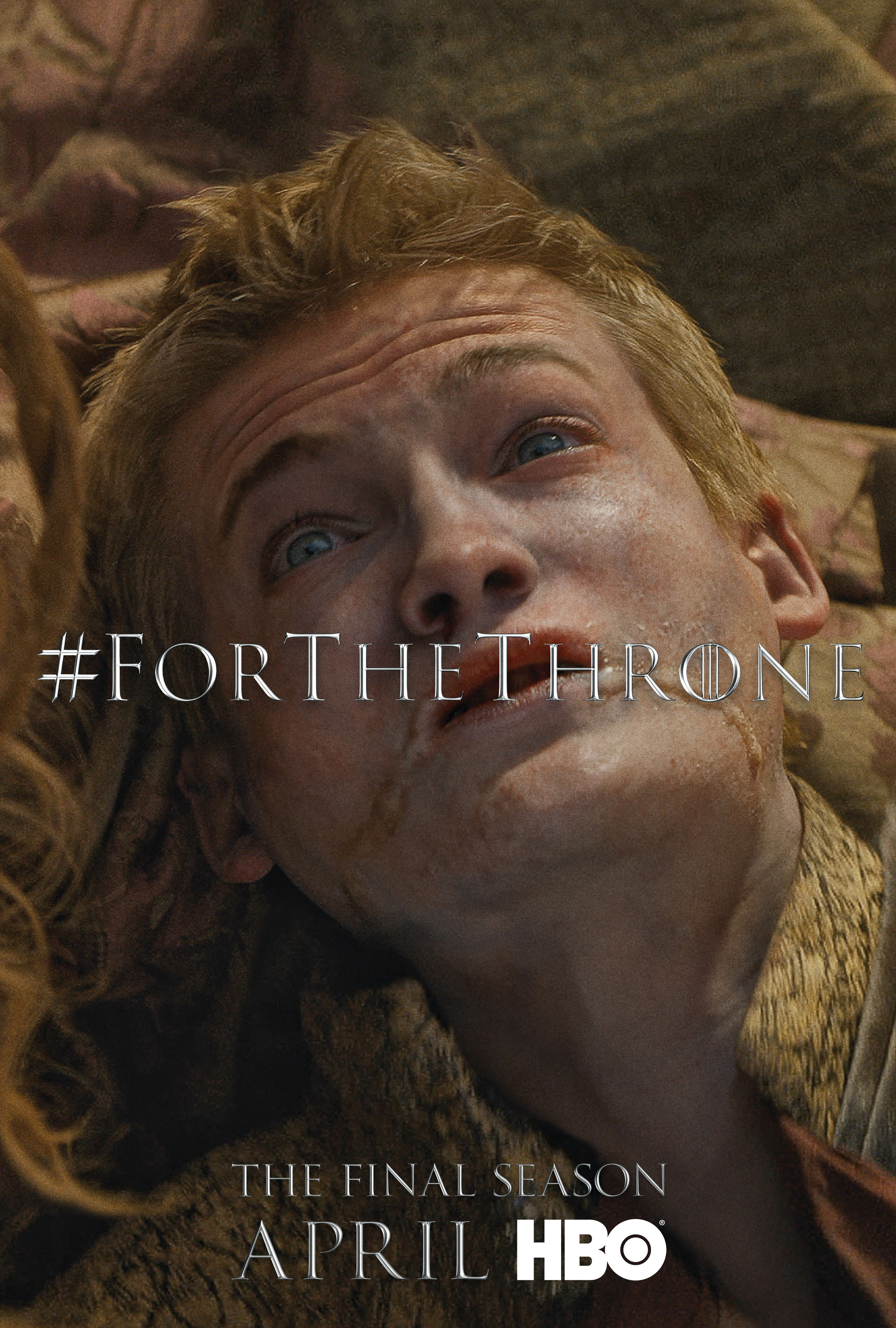 Game of Thrones - 'For the Throne' Poster - Joffrey