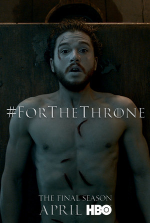 Game of Thrones - 'For the Throne' Poster - Jon Snow