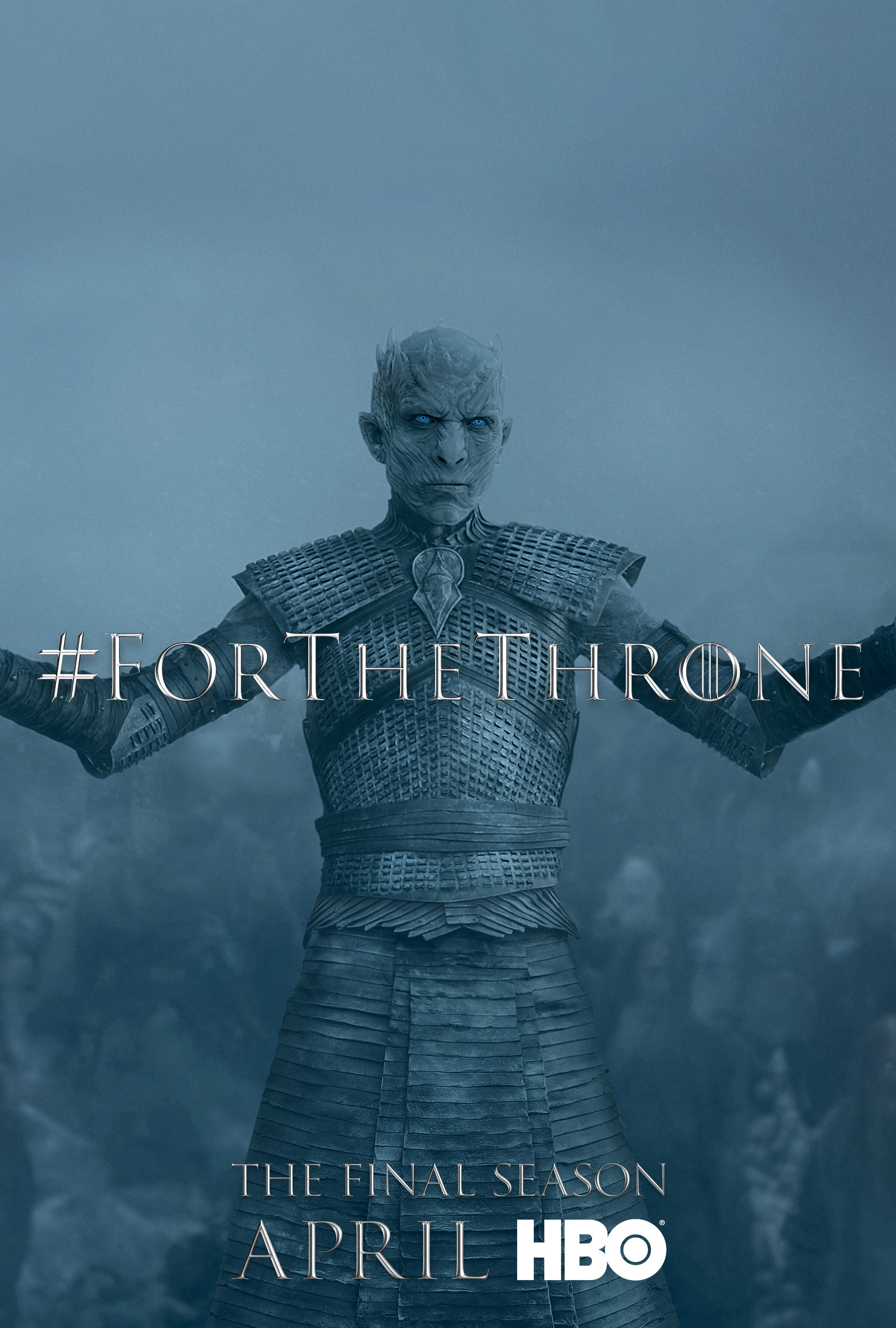 Game of Thrones - 'For the Throne' Poster - The Night King