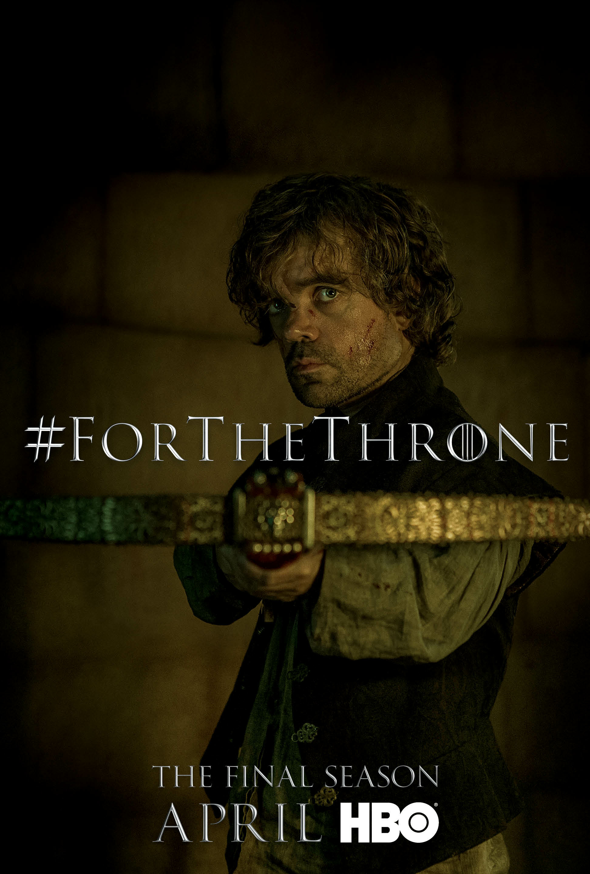 Game of Thrones - 'For the Throne' Poster - Tyrion Lannster