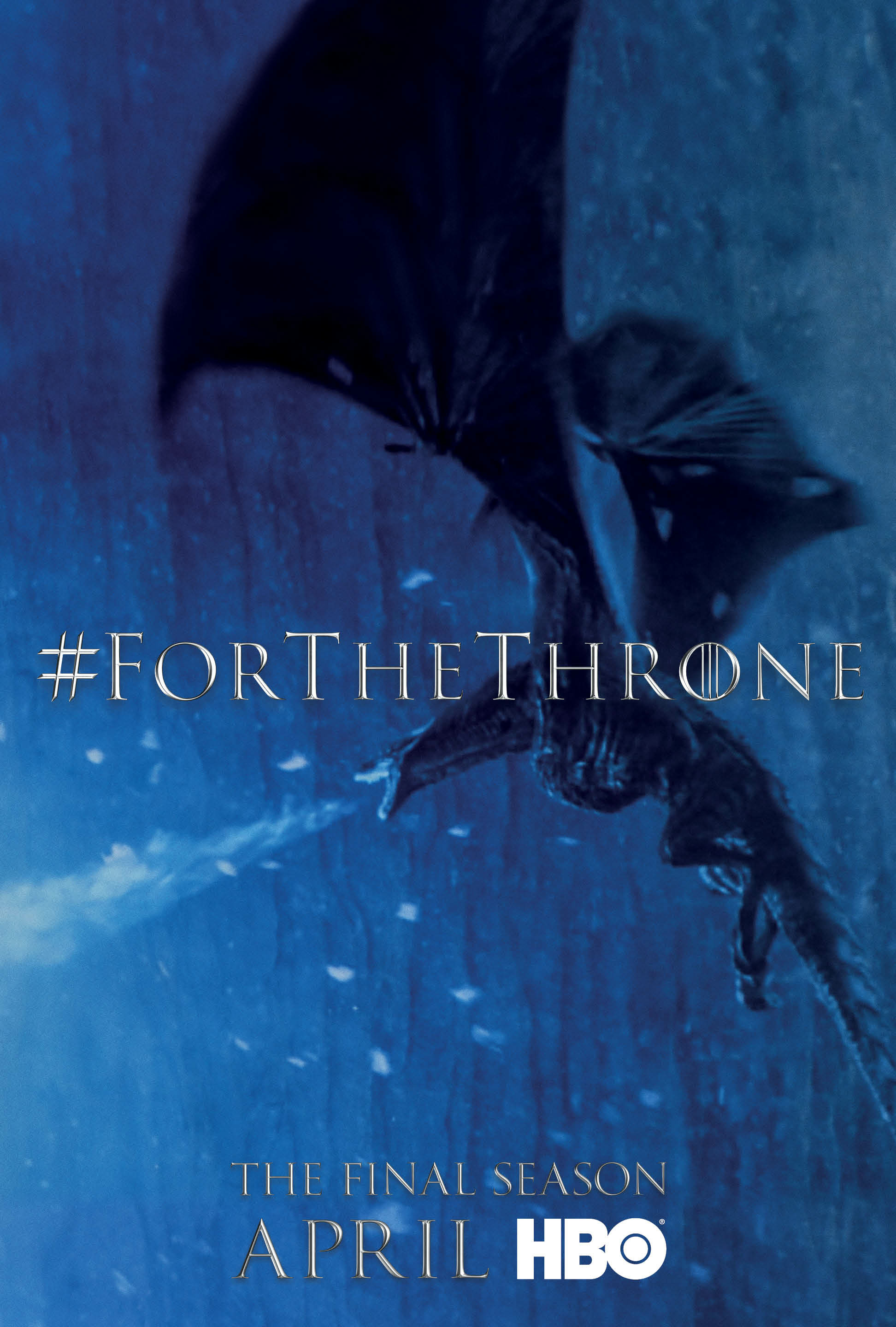 Game of Thrones - 'For the Throne' Poster - Viserion
