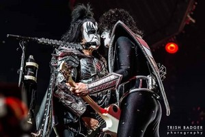 Gene and Tommy ~Houston, Texas...September 9, 2019 (Toyota Center)
