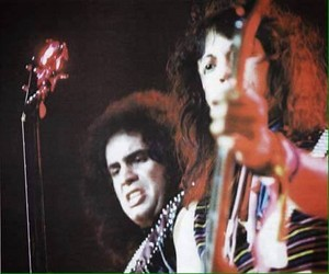 Gene and Vinnie ~Madrid, Spain..October 14, 1983 (Likk it Up Tour)