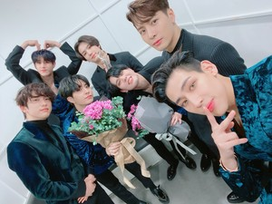 Got7 at musik Bank