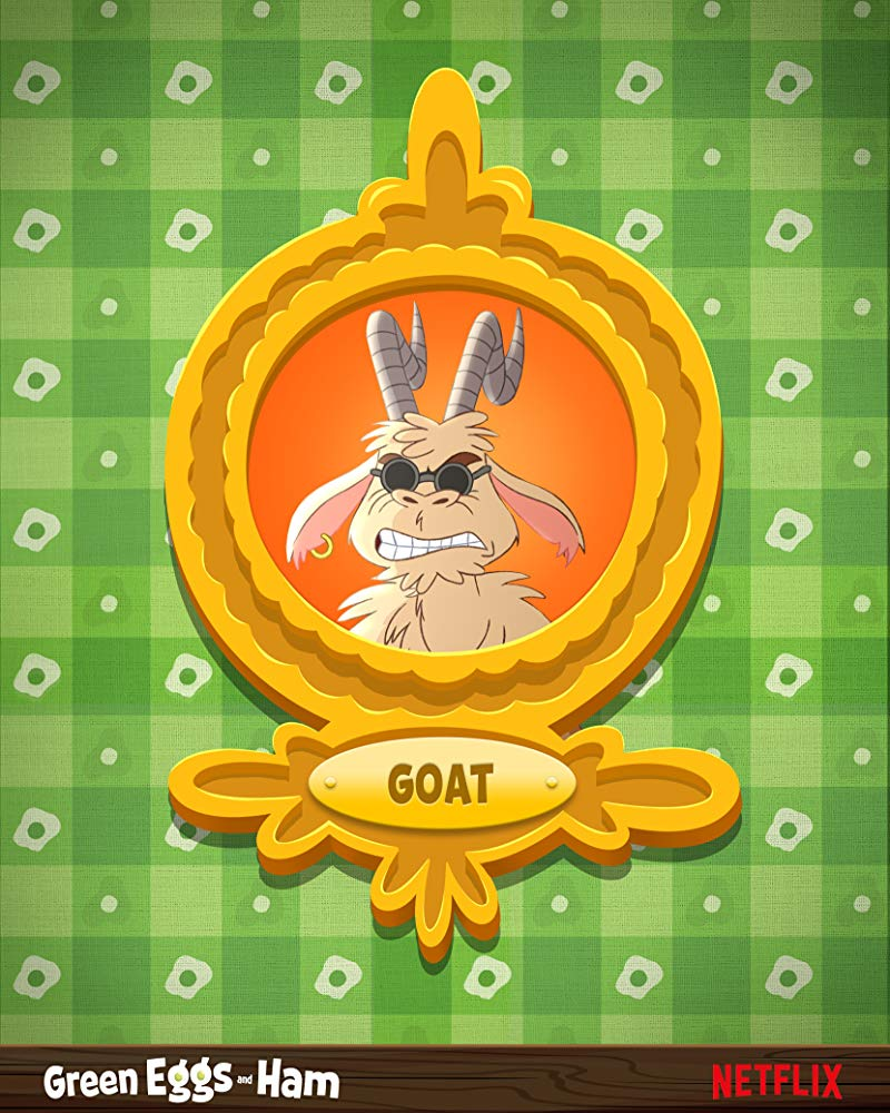 Green Eggs and Ham Poster - Goat