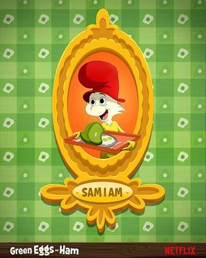 Green Eggs and Ham Poster - Sam I Am