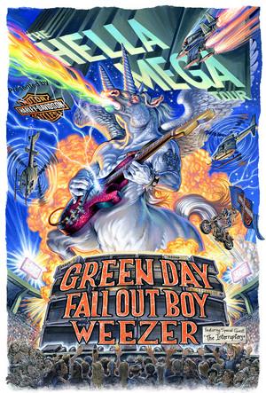 HELLA MEGA TOUR 2020 Promotional Poster