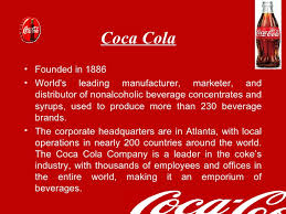 History Of Coca Cola