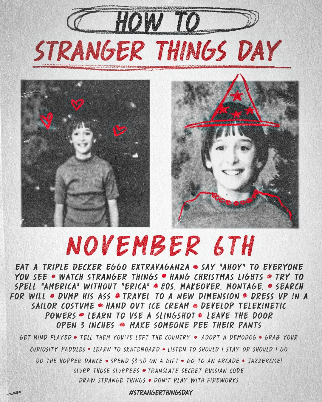 How to Celebrate Stranger Things Day
