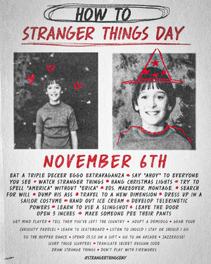 How to Celebrate Stranger Things siku