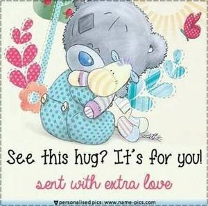 Hugs to you my Mrs.Sweeney Todd!❤️🌸💜🌺