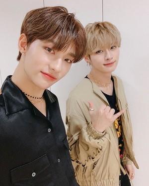 Hyunjin and Minho