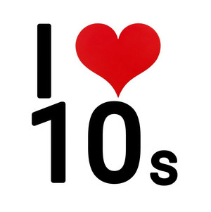 I Любовь the 10s Logo