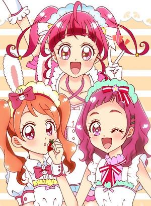 Ichika, Hikaru and Hana