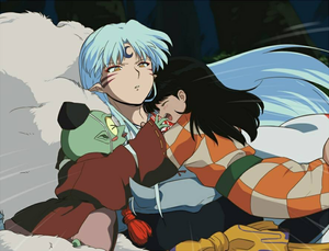 Inuyasha hug for you Bat⭐🧡💜