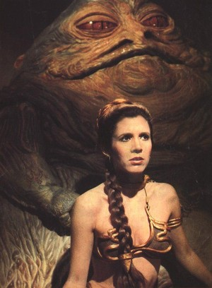 Jabba the Hutt and Slave Leia Promo