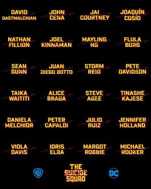 James Gunn's The Suicide Squad:  Cast Announcement