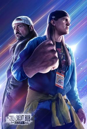 松鸦, 杰伊, 杰伊 · and Silent Bob - 'Jay and Silent Bob Reboot' Poster