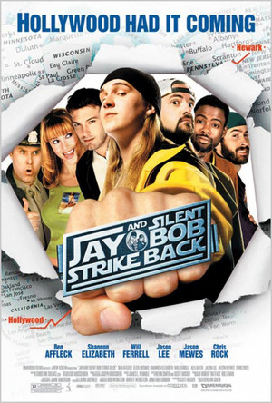 geai, jay and Silent Bob - 'Jay and Silent Bob Strike Back' Poster