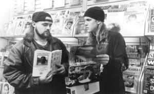 Jay and Silent Bob in 'Mallrats'