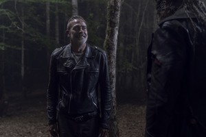Jeffrey Dean morgan as Negan in 10x06 'Bonds'