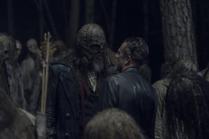 Jeffrey Dean 摩根 as Negan in 10x06 'Bonds'
