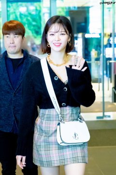 Jeongyeon at Jimmy Choo Event
