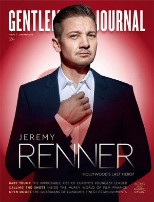 Jeremy Renner - Gentleman's Journal Cover - 2018
