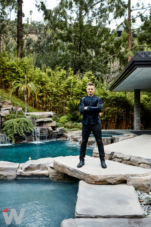 Jeremy Renner - The emballage, wrap Photoshoot - 2017