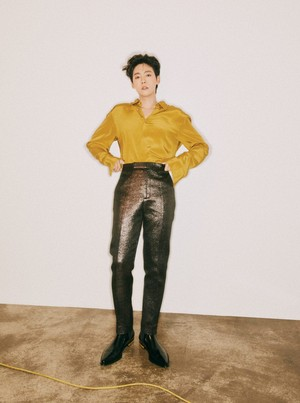 Jinwoo for GQ Korea October 2019 Issue