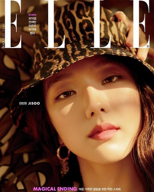 Jisoo ELLE KOREA Magazine For December 2019 Issue