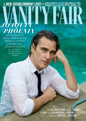 Joaquin Phoenix - Vanity Fair Cover - 2019