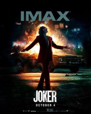 Joker (2019) IMAX Poster