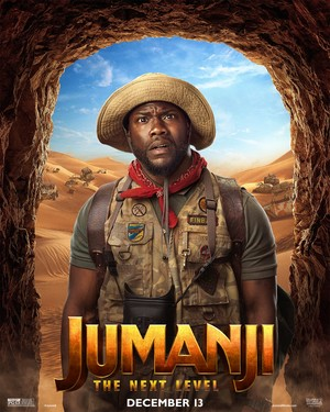 "Jumanji: The 次 Level (2019) Poster - Kevin Hart as Franklin ""Mouse"" Finbar"