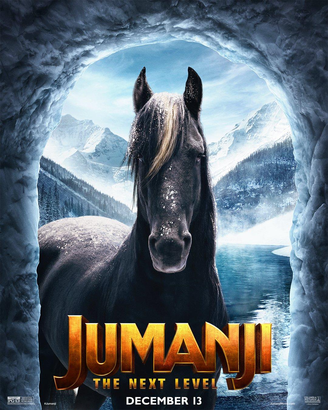 Jumanji: The Next Level (2019) Poster - The Horse