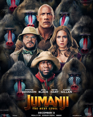 Jumanji: The seguinte Level (2019) Poster