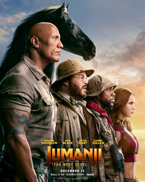 Jumanji: The Weiter Level (2019) Poster