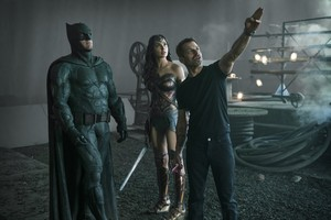 Justice League (2017) Behind the Scenes - Ben Affleck, Gal Gadot and Zack Snyder